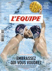 Read more about the article Numéro historique de l'Equipe contre  l'homophobie